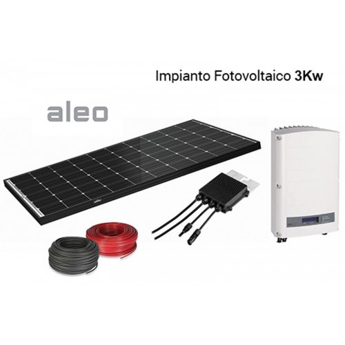 Imagén: KIT FOTOVOLTAICO Aleo + Solaredge 3000 Wp