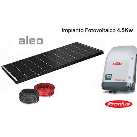 Imagén: KIT FOTOVOLTAICO Aleo + Inverter Fronius 4,500 Wp