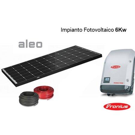 Imagén: KIT FOTOVOLTAICO Aleo + Inverter Fronius 6000 Wp
