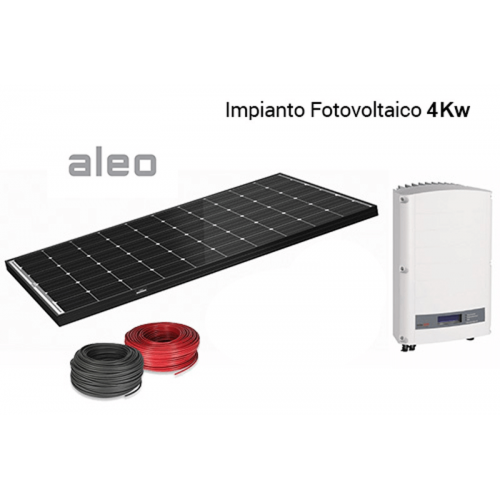 Imagén: KIT FOTOVOLTAICO Aleo + Solaredge 4,000 Wp